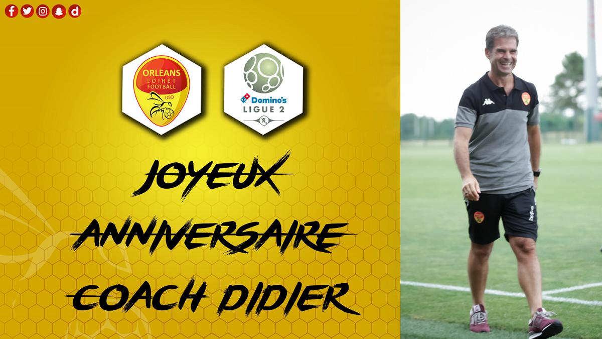 Anniversaire Didier Olle Nicolle 57 Ans Us Orleans Loiret Foot