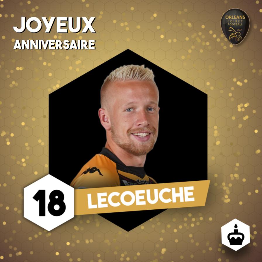 Anniversaire Quentin Lecoeuche 25 Ans Us Orléans