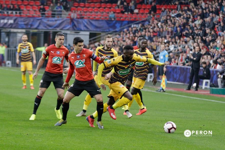 Cdf les photos du match de coupe de france rennes us - Places finale coupe de france ...